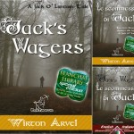 Jack's Wagers is a Jack O' Lantern tale inspired by many Celtic legends about Samhain and Halloween feasts and the horned Celtic God Cernunnus.